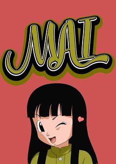 'Mai, Dragon Ball Super' Spiral Notebook by giulidesign Trunks And Mai, Dbz, Female Characters, Dragon Ball Z, Art Projects, Fan Art, Manga, Ipad, Cases