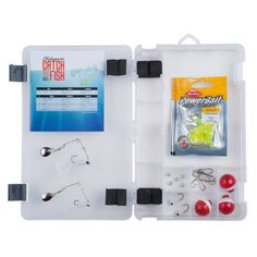 Shakespeare Catch More Fish Tackle Box Kit #tacklebox