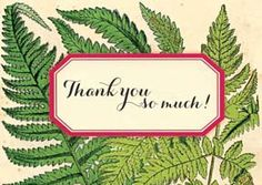Cartolina Mini Card - Thank you so much! M155