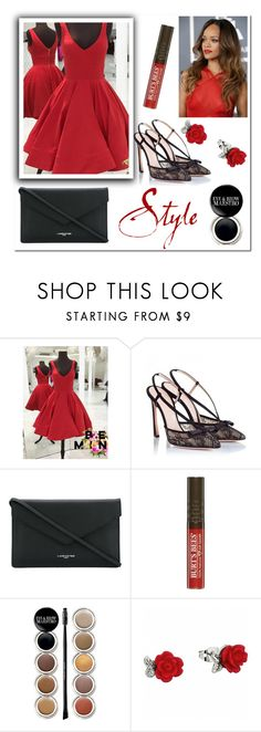"""Dream dressy 79"" by aidaaa1992 ❤ liked on Polyvore featuring Giambattista Valli, Lancaster and Giorgio Armani"