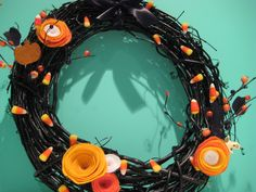 Great Ideas — 25 Fall Wreaths!!