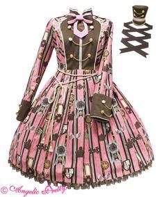 Angelic Pretty 【予約商品】Chocolate Rosette SpecialワンピースSet