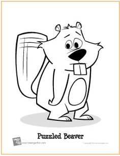American beaver coloring page | Free Printable Coloring ...
