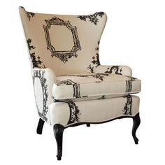 The Rustic Chic Wing Chair | Rustic Chic