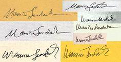 Sendak signature