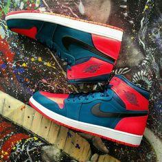 Air Jordan 1 Retro High Westbrook PE Size 15 #jordan #BasketballShoes
