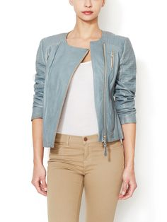Brooklyn Leather Jacket by Mackage at Gilt