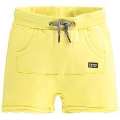 Tumble 'n Dry sweatshort Baby Kids, Baby Boy, Boys Wear, Little People, Jean Shorts, Joggers, Kids Fashion, Sweater, Yellow