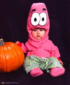 Patrick Star my sister was this for her 1st bday the only thing was hers was home made costume so ya    I