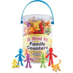 Learning Resources All About Me Family Counters Set - 72/PK