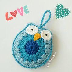 Tecendo Artes em Crochet: Encomenda de Fofurices em Tons de Azul!