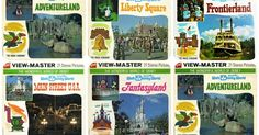 View-Master reels of Walt Disney World