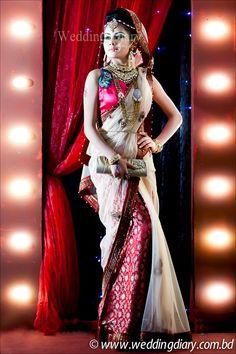 <3 <3      Ponds Bridal show Bangladesh #Bangladesh #sari #weddingsari