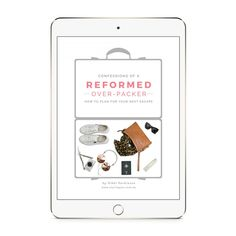 So you've booked an escape. Take the stress out of what to pack for your next holiday with my e-book: Confessions of a Reformed Over-Packer Next Holiday, What To Pack, Stressed Out, Fashion Books, Packers, Travel Style, Confessions, How To Plan, Suitcase