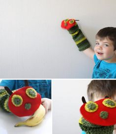 Very Hungry Caterpillar Puppet --- too cute!