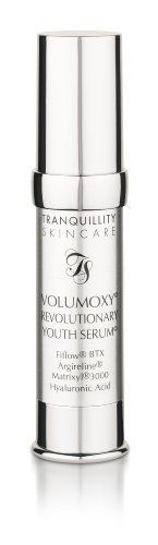 VOLUMOXY-Revolutionary Youth Serum by TRANQUILLITY SKIN CARE. $39.95. Significantly addressing and targeting the ageing process all packed into one fabulous product!. Actives have been in vivo tested; Great for all skin types even sensitive skin. Fabulous anti aging antioxidant Pomegranate Seed, Sea Buckthorn and Meadow foam seed oil. Matrixyl®3000, the great collagen builder and booster. FiFlow BTX the super Botulinum Toxin alternative and oxygen carrier, Argireline the Botu...