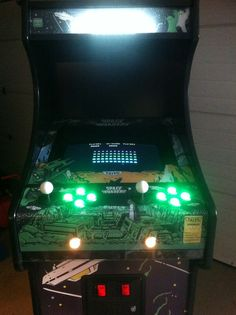 Space Invaders Green #spaceinvaders #arcade #classic #coinop #retro #games