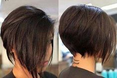 Graduation-Layered-Short-Bob Latest Bob Haircuts for 2018 Latest Bob Haircuts for 2018 - Recently we have a hairstyle that we love to see every day: bob hairstyle. If you like young and dynamic hair models Asymmetrical Bob Haircuts, Short Bob Haircuts, 2018 Haircuts, Braid Hairstyles, Hairstyles Haircuts, Short Hair Cuts, Short Hair Styles, Bobs For Thin Hair, Hair Dos