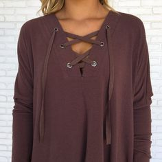 Can't Stop Sweater Top in Plum