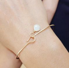 Erin Gemstone Bangle