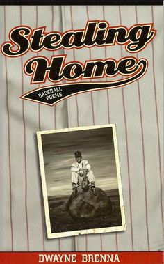 """""""The Ball Player"""" by Memory Roth Artist - Painting Memories - Cover art for """"Stealing Home"""" by Dwayne Brenna"""