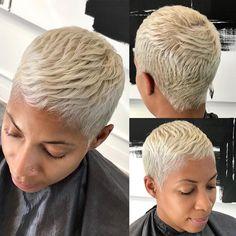 BONE STRAIGHT!! Precision cut & double process coloring & style #HairByUno #AtlantaHairstylist #AtlHairstylist #AtlColorist #AtlantaColorist #atlantashorthairstylist #atlshorthairstylist #atlshorthair #atlantashorthair #shortCuts #atlantashortcuts #shortcutsatlanta #atlpixie #pixiecutatlanta #besthairatl #whitegirlhaircut #razorcut #Redken #shorthairstyle #atlbob #sewintop #atlhair #redkenflashlift #atlantahair #pixieAtlanta #thecutlife #PixieAtl #pixieCut #softHair