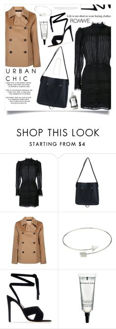 """""""I Think You're Lovely"""" by violet-peach ❤ liked on Polyvore featuring Isabel Marant, Jaeger, Gianvito Rossi, Elizabeth Arden and R+Co"""