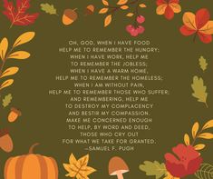 Prayer Ideas for Giving Thanks on Thanksgiving Day