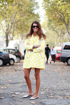 As seen on the street: polka dot looks we love