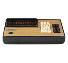 Casio calculator, 1969-1972. Japan. Source
