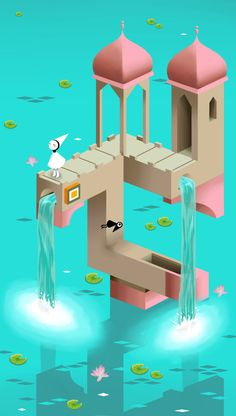 Monument Valley! I really really loved this game. All of the wacky perspective and impossible space made for a really awesome experience. (Also, Ida and the crows are so adorable) It was so beautiful that it helped me find my muse again, after so many months of not doing any drawing at all.