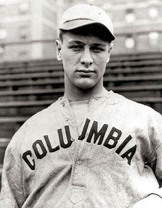 Lou Gehrig at Columbia