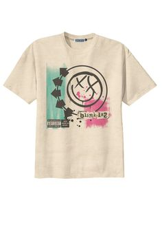 Retro Blink-182 Punk Rock Band T-Shirt Tee Organic Cotton Vintage Look Size S M L on Etsy, $14.00