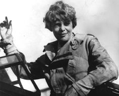 Amelia Earhart born July 24, 1897 with the North Node in Aquarius, sign of aviation in her 10th house of career.