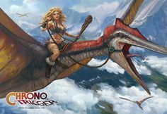 Ayla Dino rider , Tyler  edlin on ArtStation at https://www.artstation.com/artwork/ayla-dino-rider