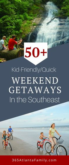 , Best Family Weekend Getaway Ideas In The Southeast , Need some quick weekend getaway ideas that will have you exploring the best the Southeast has to offer? How about family friendly places (or maybe. Weekend Getaways With Kids, Weekend Vacations, Family Getaways, Vacation Resorts, Weekend Trips, Vacation Destinations, Vacation Spots, Vacation Ideas, Kid Friendly Vacations