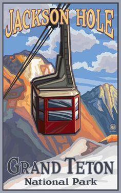 Grand Teton National Park Jackson Hole Tram