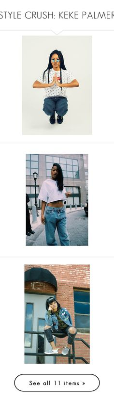 """""""STYLE CRUSH: KEKE PALMER"""" by gigi-lucid ❤ liked on Polyvore featuring home and home decor"""