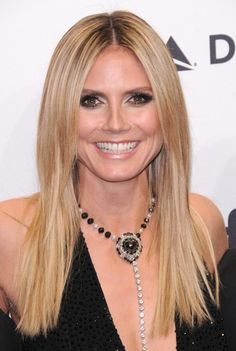 Heidi Klum's nose undoubtedly looked a lot better before plastic surgery. Description from plasticsurgerykicks.com. I searched for this on bing.com/images