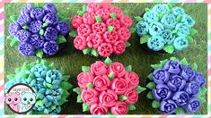 RUSSIAN PIPING TIPS: BUTTERCREAM FLOWERS - SUGARCODER