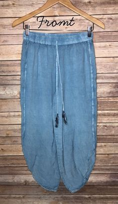 eda21605188 Blue Hipster Style Pants Size Medium Cropped  fashion  clothing  shoes   accessories  womensclothing  pants (ebay link)