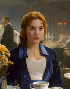 Kate Winslet as Rose DeWitt Bukater in Titanicshe is so beautiful