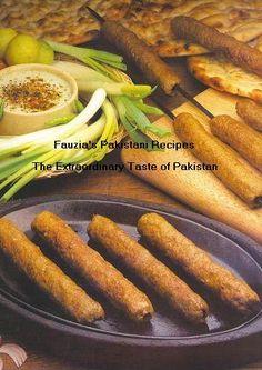 Chicken Seekh Kabab Recipe - Pakistani Kabab/Grill Dish - Fauzia's Pakistani Recipes - The Extraordinary Taste Of Pakistan