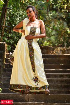 Traditional Ethiopian Dresses – Page 4 – Kemis Designs