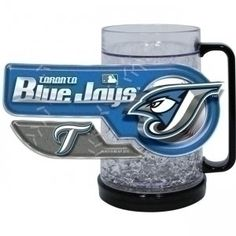 Toronto Blue Jays Crystal Freezer Mug