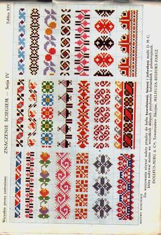 ru cross stitch borders -- would make beautiful headband/earwarmers! Beaded Cross Stitch, Cross Stitch Borders, Cross Stitch Flowers, Cross Stitch Charts, Cross Stitch Designs, Cross Stitching, Cross Stitch Patterns, Blackwork Embroidery, Folk Embroidery