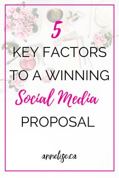The 5 key factors to writing a winning social media proposal. How to write a social media proposal and what to include in your social media proposal. What you should add to your proposal to get more clients. How to get new social media clients. Social Media Proposal templates. Example social media proposals. Facebook Marketing, Sales And Marketing, Social Media Marketing, Digital Marketing, Marketing Tools, Marketing Proposal, Business Proposal, How To Get Clients, Proposal Writing