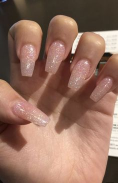 Spring fever nails 2019 57 super cute spring nails 16 - Skin beauty is one of th. - Beauthy - Spring fever nails 2019 57 super cute spring nails 16 – Skin beauty is one of the most sensitive - Summer Acrylic Nails, Best Acrylic Nails, Summer Nails, Sparkly Acrylic Nails, Acrylic Nail Designs Glitter, Acrylic Nail Art, Acrylic Nail Designs For Summer, Simple Acrylic Nails, Simple Nails