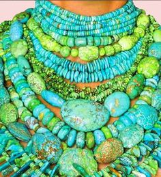 turquoise American Indian necklace