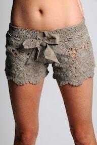 crochet shorts pattern...sexay!